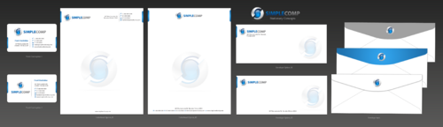 Letterhead/Stationary Business Cards and Stationery  Draft # 100 by einsanimation