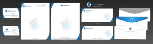 Letterhead/Stationary Business Cards and Stationery  Draft # 104 by einsanimation