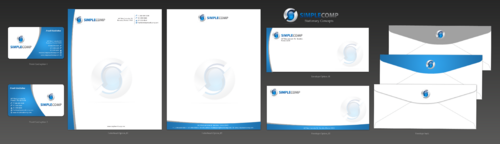 Letterhead/Stationary Business Cards and Stationery  Draft # 105 by einsanimation