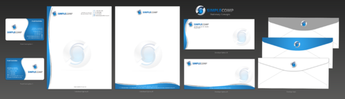 Letterhead/Stationary Business Cards and Stationery  Draft # 106 by einsanimation