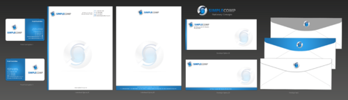 Letterhead/Stationary Business Cards and Stationery  Draft # 108 by einsanimation