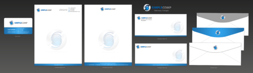 Letterhead/Stationary Business Cards and Stationery  Draft # 109 by einsanimation