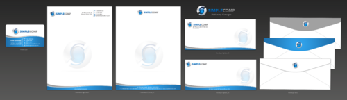 Letterhead/Stationary Business Cards and Stationery  Draft # 110 by einsanimation