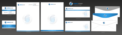 Letterhead/Stationary Business Cards and Stationery  Draft # 111 by einsanimation