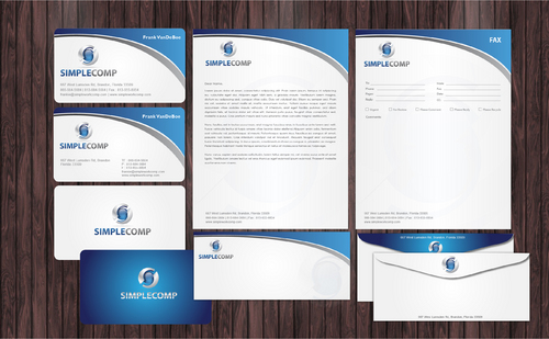 Letterhead/Stationary Business Cards and Stationery  Draft # 112 by Achiver