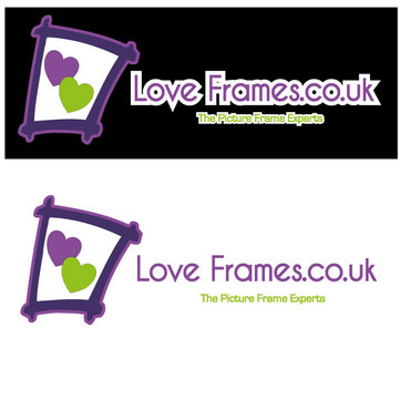 LoveFrames.co.uk A Logo, Monogram, or Icon  Draft # 7 by Sueblu