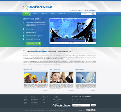 New Website template for Centerbase