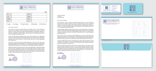 letterhead and cards