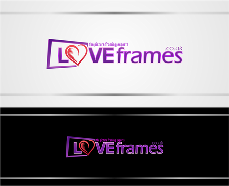 LoveFrames.co.uk A Logo, Monogram, or Icon  Draft # 65 by rawux