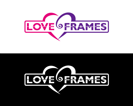 LoveFrames.co.uk A Logo, Monogram, or Icon  Draft # 75 by sallu
