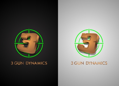 3 Gun Dynamics A Logo, Monogram, or Icon  Draft # 46 by newlandconceptart