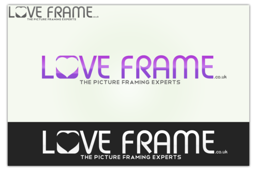LoveFrames.co.uk A Logo, Monogram, or Icon  Draft # 101 by TJGFX