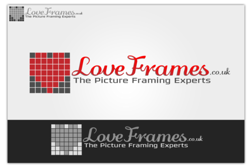 LoveFrames.co.uk A Logo, Monogram, or Icon  Draft # 108 by TJGFX
