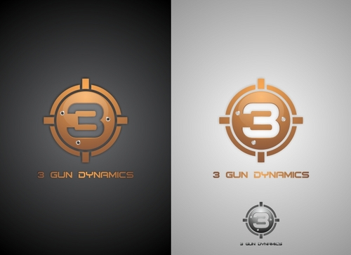 3 Gun Dynamics A Logo, Monogram, or Icon  Draft # 48 by newlandconceptart