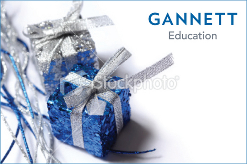 Gannett Education Business Cards and Stationery  Draft # 1 by cArnn