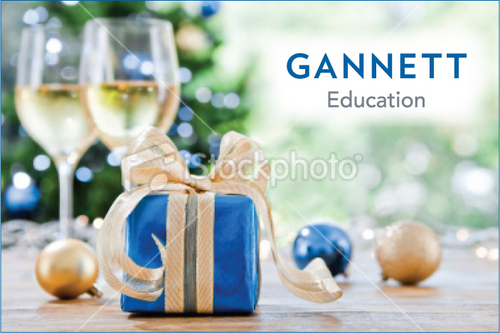 Gannett Education Business Cards and Stationery  Draft # 2 by cArnn