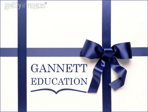 Gannett Education Business Cards and Stationery  Draft # 4 by sibytgeorge