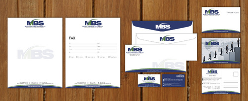 business cards, thank you cards, letterhead, envelops, post cards