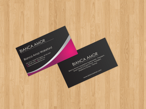 for owner of multiple businesses. Business Cards and Stationery  Draft # 25 by akreationz