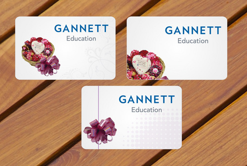Gannett Education Business Cards and Stationery  Draft # 14 by smartinfo