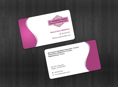 for owner of multiple businesses. Business Cards and Stationery  Draft # 31 by einsanimation