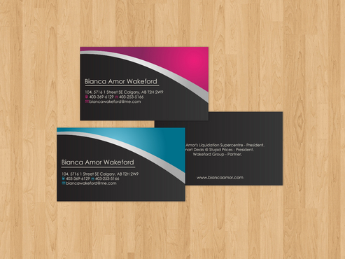 for owner of multiple businesses. Business Cards and Stationery  Draft # 32 by akreationz