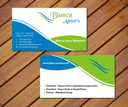 for owner of multiple businesses. Business Cards and Stationery  Draft # 36 by smartinfo