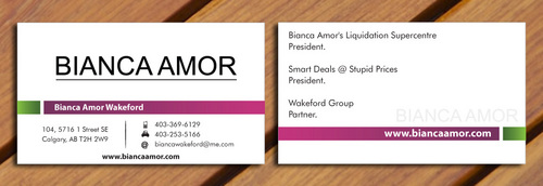 for owner of multiple businesses. Business Cards and Stationery  Draft # 42 by smartinfo