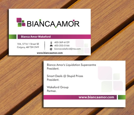 for owner of multiple businesses. Business Cards and Stationery  Draft # 44 by smartinfo
