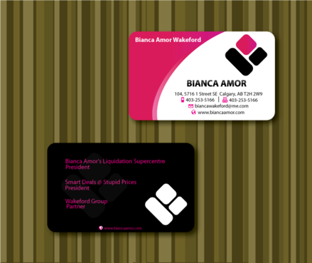 for owner of multiple businesses. Business Cards and Stationery  Draft # 49 by sketchate