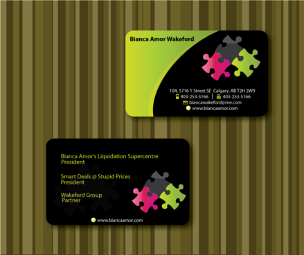 for owner of multiple businesses. Business Cards and Stationery  Draft # 58 by sketchate