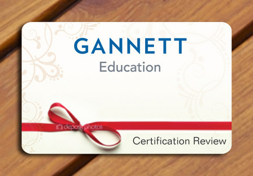 Gannett Education Business Cards and Stationery  Draft # 39 by smartinfo