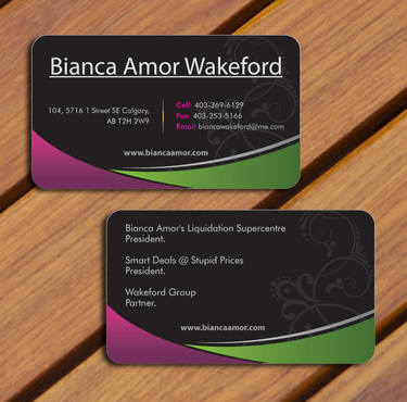 for owner of multiple businesses. Business Cards and Stationery  Draft # 60 by smartinfo
