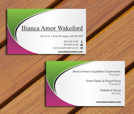 for owner of multiple businesses. Business Cards and Stationery  Draft # 62 by smartinfo