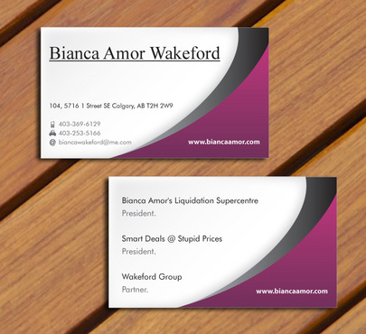 for owner of multiple businesses. Business Cards and Stationery  Draft # 63 by smartinfo