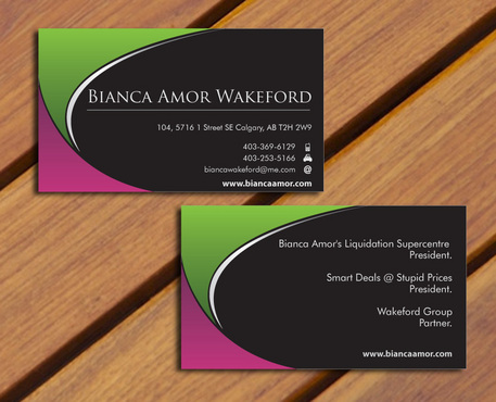 for owner of multiple businesses. Business Cards and Stationery  Draft # 65 by smartinfo