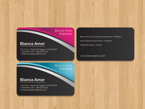 for owner of multiple businesses. Business Cards and Stationery  Draft # 66 by akreationz