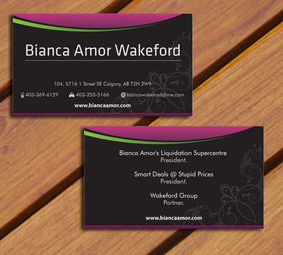 for owner of multiple businesses. Business Cards and Stationery  Draft # 67 by smartinfo