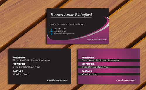 for owner of multiple businesses. Business Cards and Stationery  Draft # 68 by smartinfo