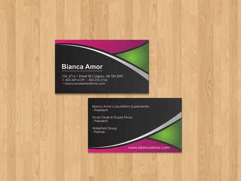 for owner of multiple businesses. Business Cards and Stationery  Draft # 69 by akreationz