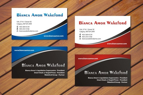 for owner of multiple businesses. Business Cards and Stationery  Draft # 73 by smartinfo
