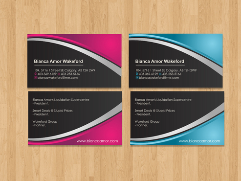 for owner of multiple businesses. Business Cards and Stationery  Draft # 74 by akreationz