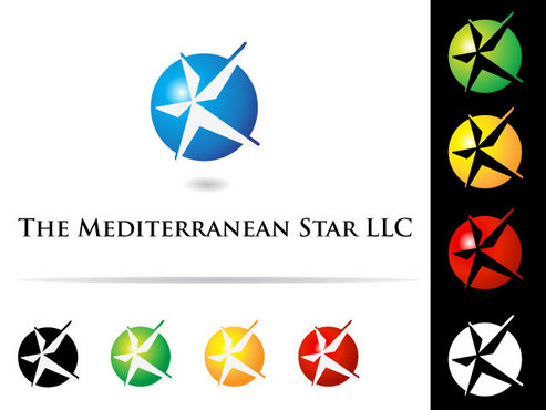 The Mediterranean Star A Logo, Monogram, or Icon  Draft # 81 by creativearts