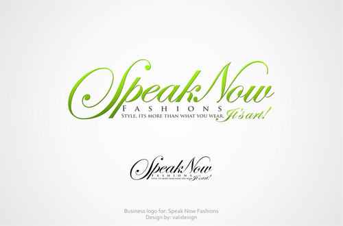 Speak Now Fashions