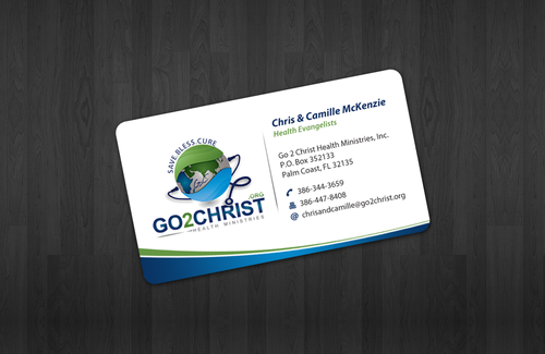 Go 2 Christ Health Ministries, Inc Business Cards and Stationery  Draft # 6 by einsanimation