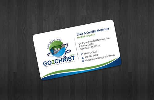 Go 2 Christ Health Ministries, Inc Business Cards and Stationery  Draft # 7 by einsanimation