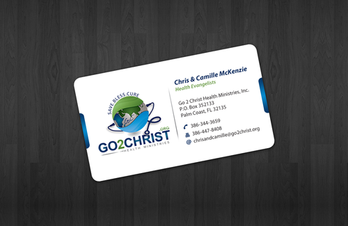 Go 2 Christ Health Ministries, Inc Business Cards and Stationery  Draft # 9 by einsanimation