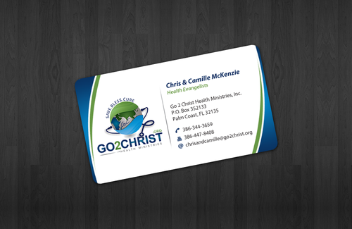 Go 2 Christ Health Ministries, Inc Business Cards and Stationery  Draft # 11 by einsanimation