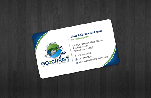 Go 2 Christ Health Ministries, Inc Business Cards and Stationery  Draft # 13 by einsanimation