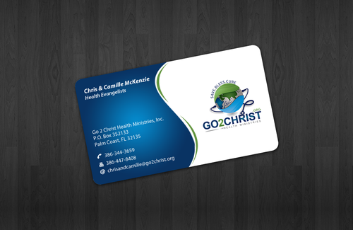 Go 2 Christ Health Ministries, Inc Business Cards and Stationery  Draft # 15 by einsanimation